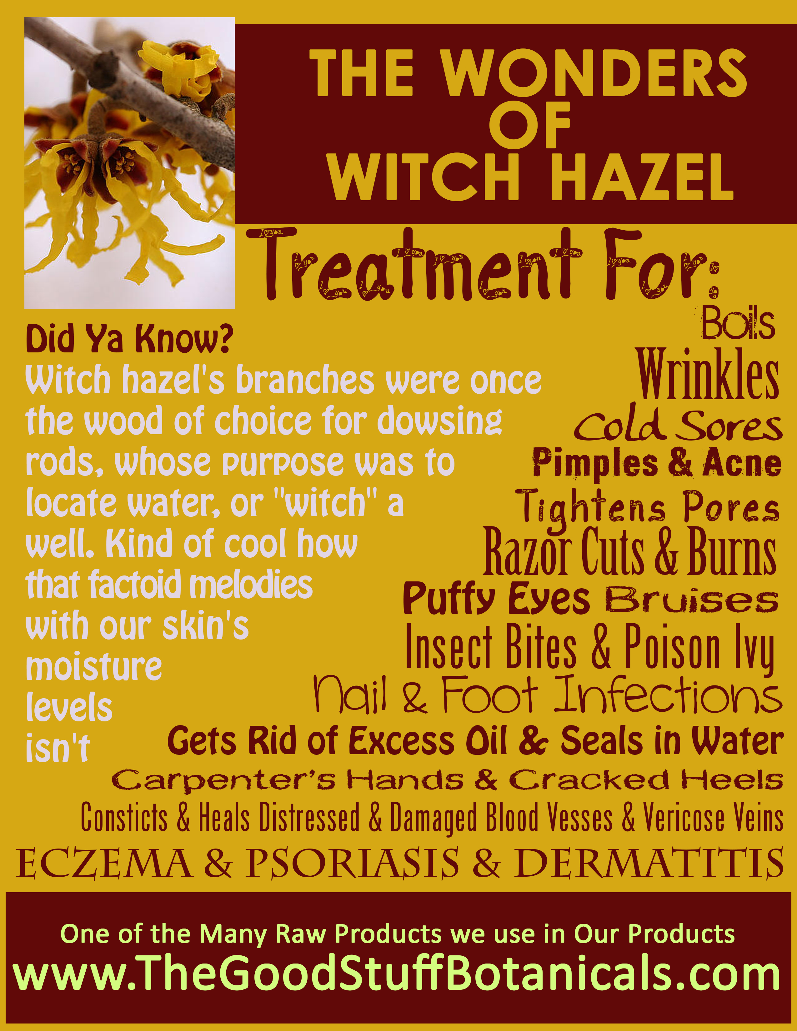 Witch hazel face benefits